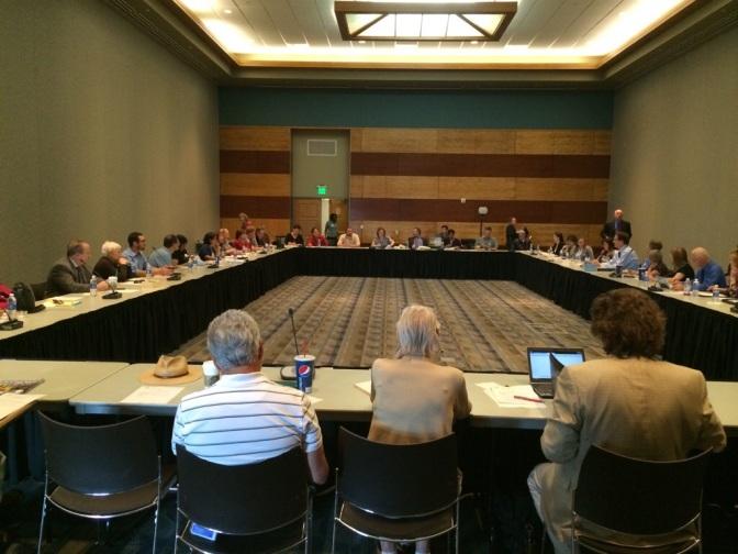 Attending an RTC public meeting